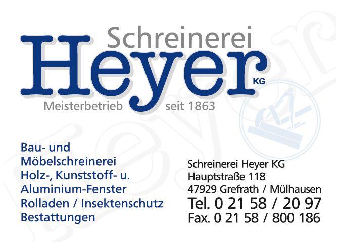 Schreinerei Heyer